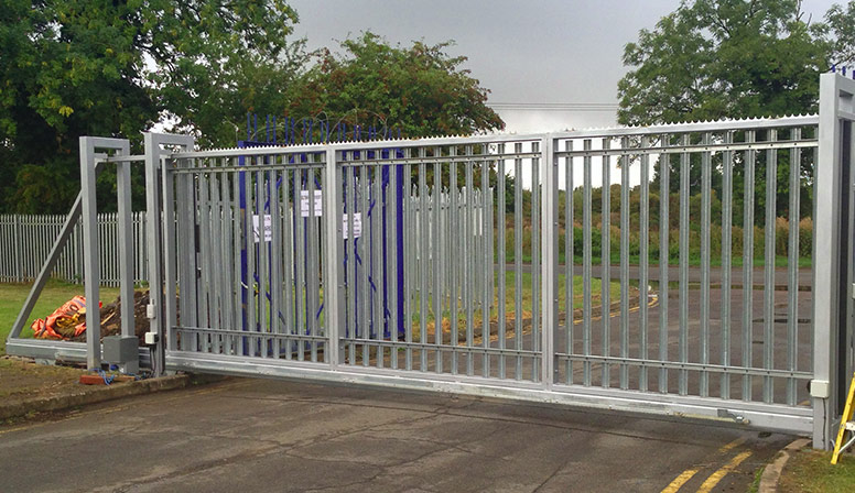 Industrial Slide Gate : Electric gates automatic and approved installers of