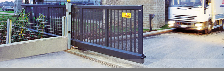 Industrial Electric Gates : Electric gates automatic and approved installers of